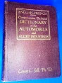 AUTOMOBILE DCTIONARY FRENCH -ENGLISH