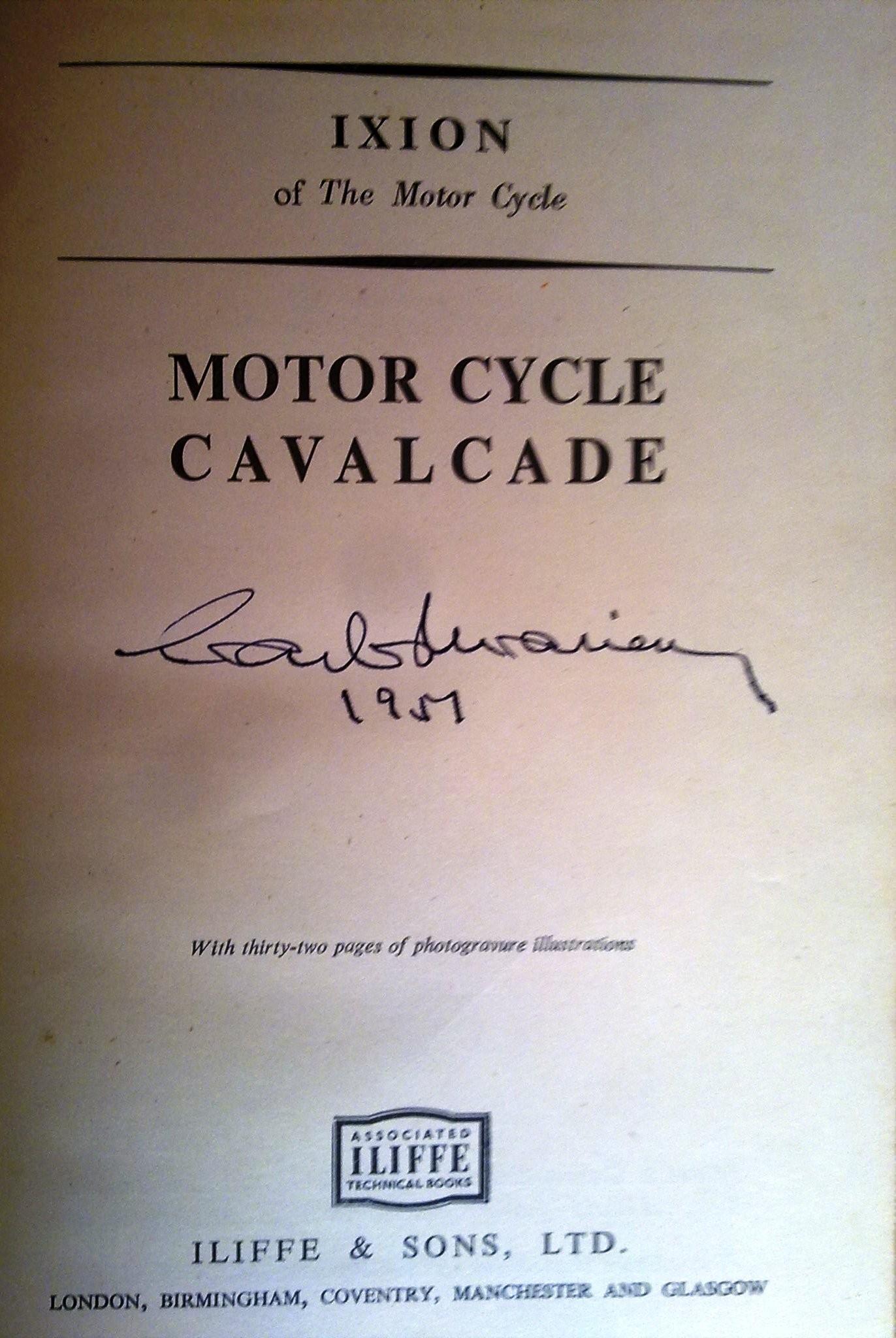 MOTOR CYCLE CAVALCADE