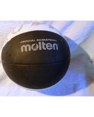 bola oficial antiga de basketball americana, official molten MOLTEN, bom estado, rarissima.