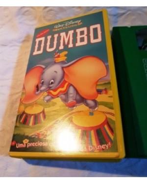 dumbo,vhs original, Walt Disney clássicos  dublado português, perfeito estado.