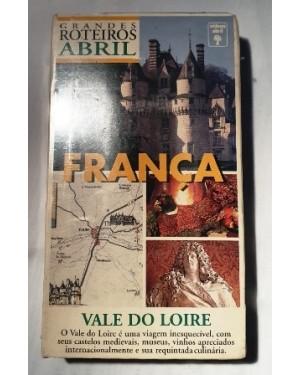 VHS França, lacrado Vale Loire, viagem inesquecível Ed.Abril , roteiros. O vale do loire c seus castelos medievais, museus, vinhos e culinária!