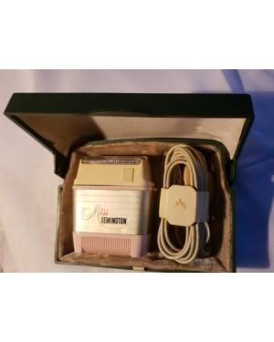 depilador elétrico antigo miss Remington 1960 caixa funcionando bi Volt, made in Argentina , perfeito estado !!!!
