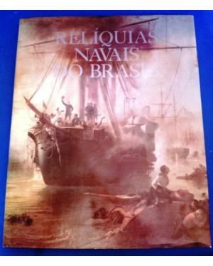 Livro RELÍQUIAS NAVAIS DO BRASIL editado pela nossa marinha