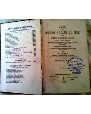 CONSERVAR A BELLEZA E A SAUDE A ARTE 1877