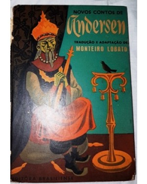 monteiro lobato, novos contos de ANDERSON,LIVRO INFANTIL , editora brasiliense, 1958 livro numero 7417.