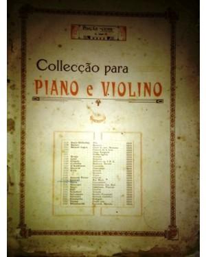 PARTITURA PIANO E VIOLINO AVE MARIA Antiga partitura para piano e violino- Ave maria. Anos 20/30. Casa Bevilacqua
