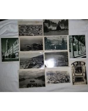 postais antigos da Europa-1948  aprx, 11 pçs, bom estado.