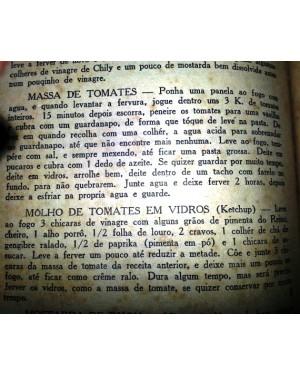 """receita original do ketchup, de um livro de 1932-chamava se -""""molho de tomates em vidros'-copie e salve.Cortesia de nosso  web site!"""