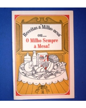 kornflakes,receitas e propaganda,bom estado,1960
