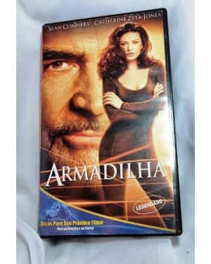 VHS ARMADILHA Sean Connery .twentieth Century Fox ação legendado112 m.