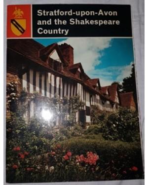 livreto, mostrando em detalhes a cidade de STRATFORD-UPON AVON AND the Shakespeare Country.