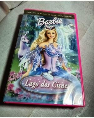 VHS Barbie Lago dos Cisnes 81 min. cor livre Universal original , na caixa usado , bom estado!