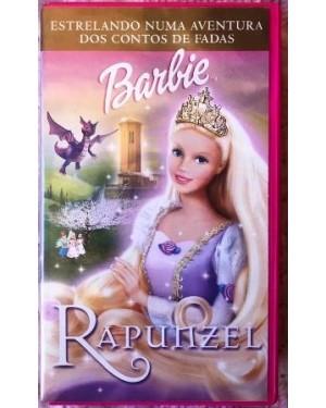 Barbie Rapunzel vhs dublado, Universal 78 min original dolby stereo