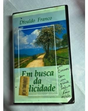 VHS duplo Divaldo Franco EM BUSCA DA FELICIDADE ok!