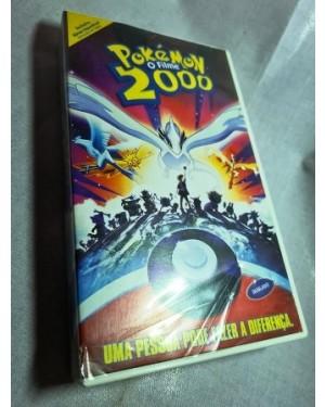 Vhs Pokémon 2000 O filme Warner Bross,  livre na caixa, original, 101 minutos ok