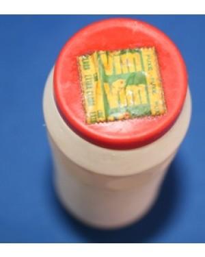 saponáceo  VIM,   embalagem plástica, 10 cm raridade dos anos 70.