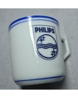 Xícara Porcelana Mauá PHILLIPS 1960 Coleção OK!