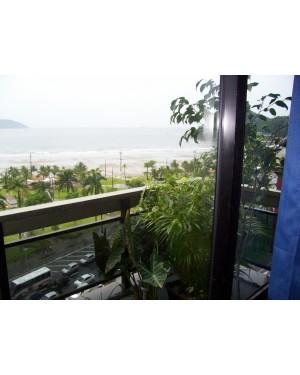 Apartamento São Vicente frente p a praia