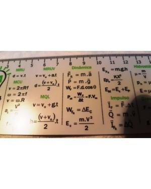 cálculos calculos físicos , régua com as principais equações básicas , dinâmica, eletrostática, hidrostática, termodinâmica, escalas, eletromagnetismo etc.