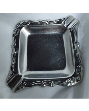 Cinzeiro Inox W, Usado Bom Estado 1 X 8 X 12 Cm Útil