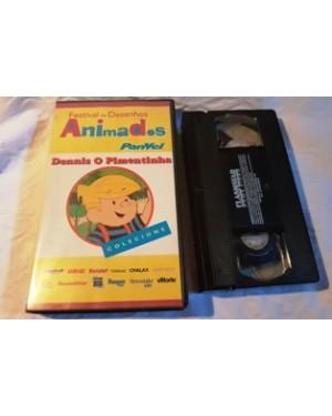 dennis Dennis, o pimentinha, VHS, da Flash Star,Panvel, 50 min., dublado. perfeito estado.