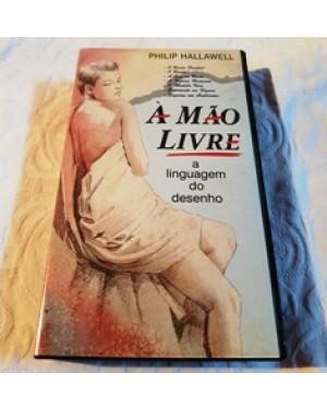 VHS vhs -a linguagem do desenho, 3 volumes, por Philip Hallawell- a linguagem do corpo.