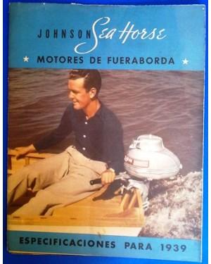 MANUAL MOTOR POPA JONHSON 1939