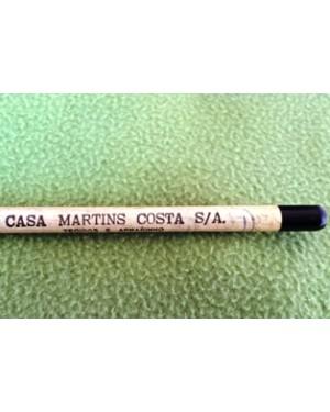lápis antigo, sem uso, 1950, grafite, raridade.