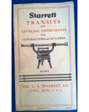 MANUAL starret transit 99 a 101