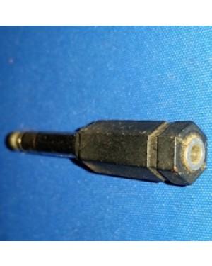 plug antigo, transfere plugs pequenos (tipo fone de ouvido), para tamanho maior.Década de 70,bom estado