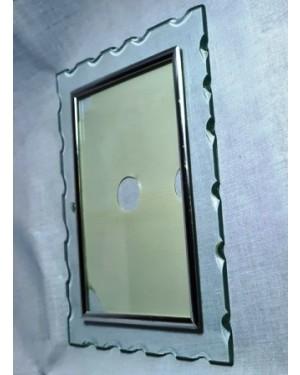 Porta retratos cristal MASTER FRAME 15 x 20 cm , na caixa . Área útil p a foto:    10 x 15 cm.