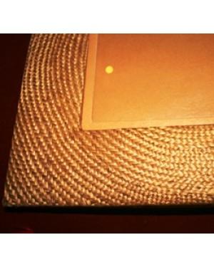 porta retratos em trama de fios de nylon, nunca foi usado,1970,ótimo estado, mede 24 x 30 cm.