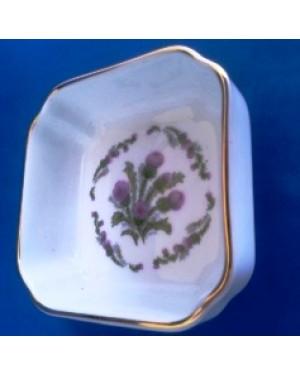 bowl, porcelana, marca Royal Vale, england, perfeito estado, mede 3x 8 x 8 cm.
