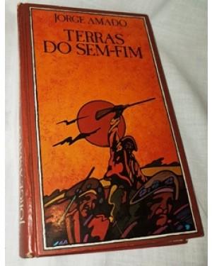 livro terras sem fim, de jorge amado, capa dura,279 páginas, bom estado, reedição da original de 1942.