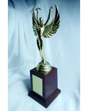 Troféu Honra da Vitoria guardado sem uso, JAPAN lindíssimo. 8 x 21 cm, plástico c plaqueta p inscrição .