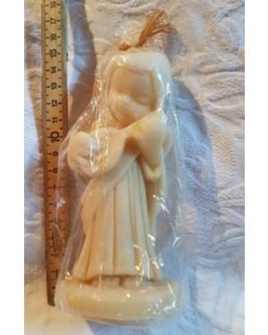 vela em forma de anjo antiga,na embalagem original, guardada há 10 anos, perfeito estado, p decorar ou usar.