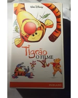 Tigrão O Filme, dublado VHS NSTC WALT DISNEY 75 m,cor original, bom estado